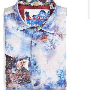 Robert Graham The Tribe Classic Fit Linen Shirt